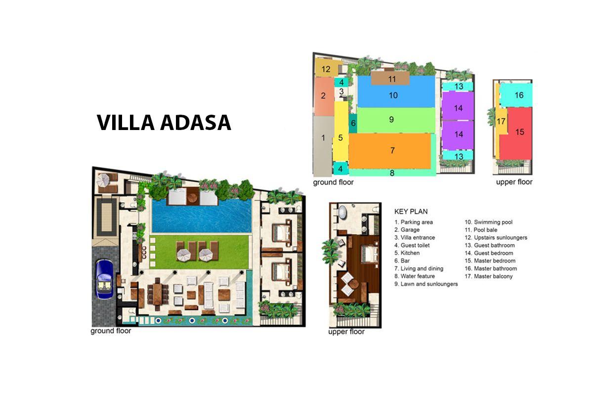 Villa Adasa Villa Floor Plans Resort Villa
