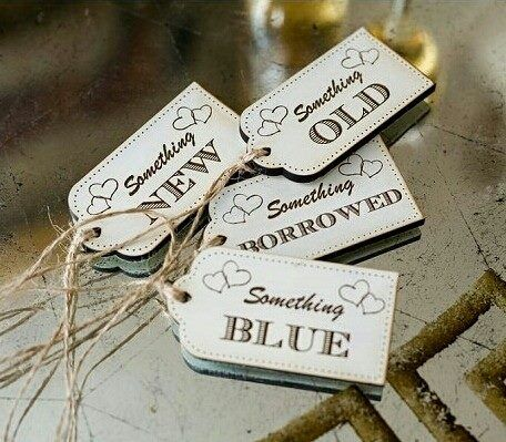 Something Old New Borrowed Blue Printable Gift Tag Google Search