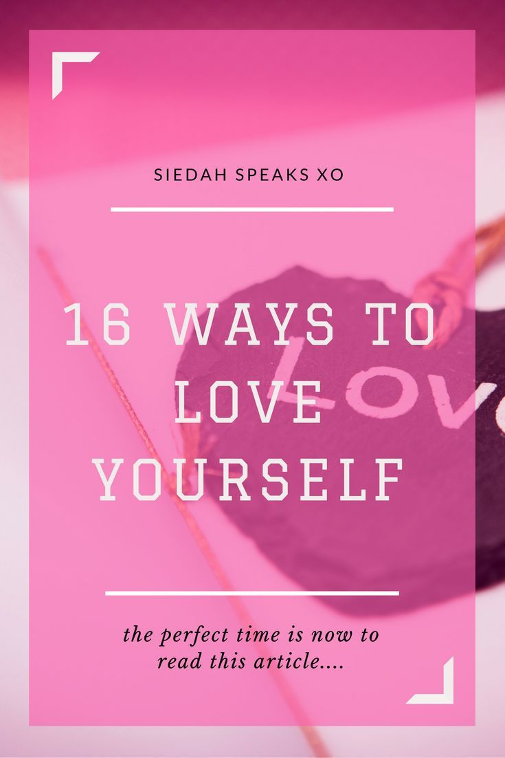 love yourself course