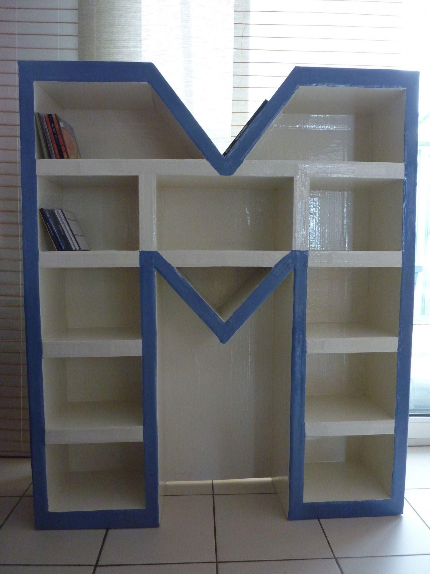 Fabriquer Une Bibliothèque En Carton meubles-et-rangements-etagere-bibliotheque-en-carton-l