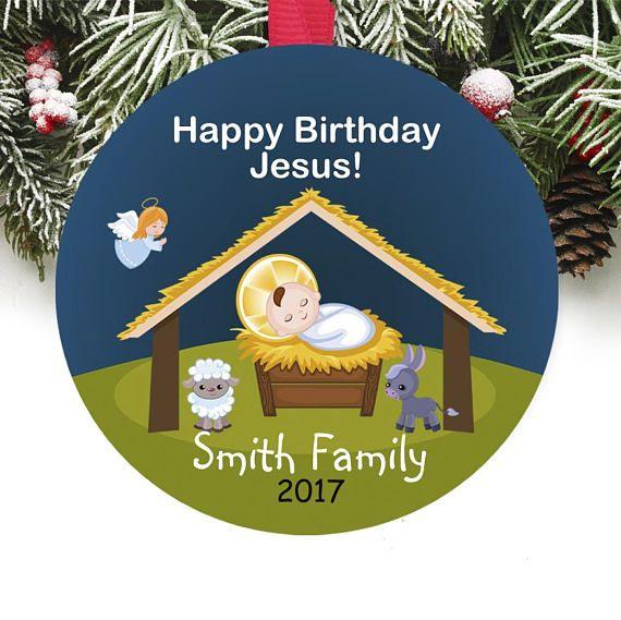Personalized Christmas Ornament Personalized Keepsake Ornament