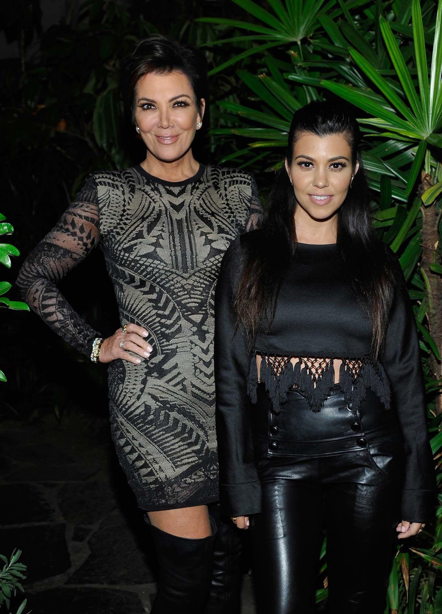 Kris Jenner and Kourtney Kardashian  kardashians  Pinterest  Kris