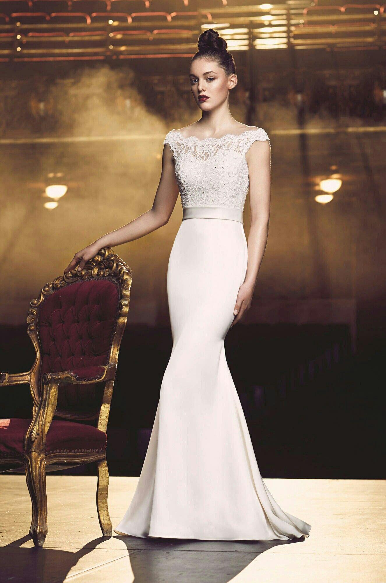 Paloma blanca wedding gowns bridal gownmermaidfishtail