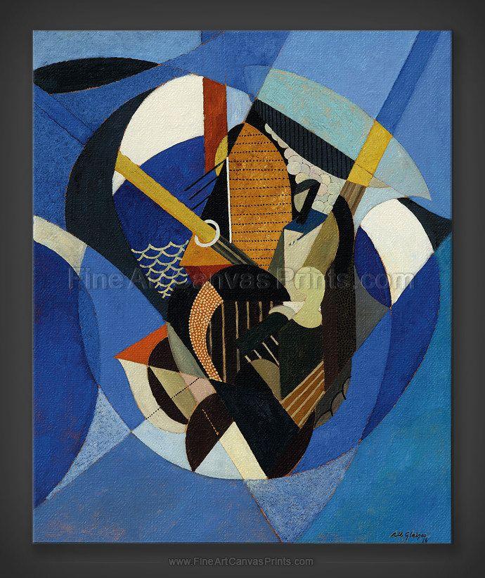 Albert Gleizes: On a Sailboat 1916