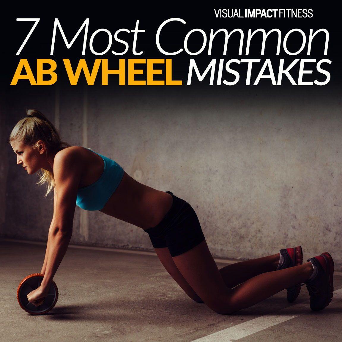 Ab Wheel Mistakes 7 Most Common Ways Workout Plan For Women Workout Plan For Men Ab Wheel Workout