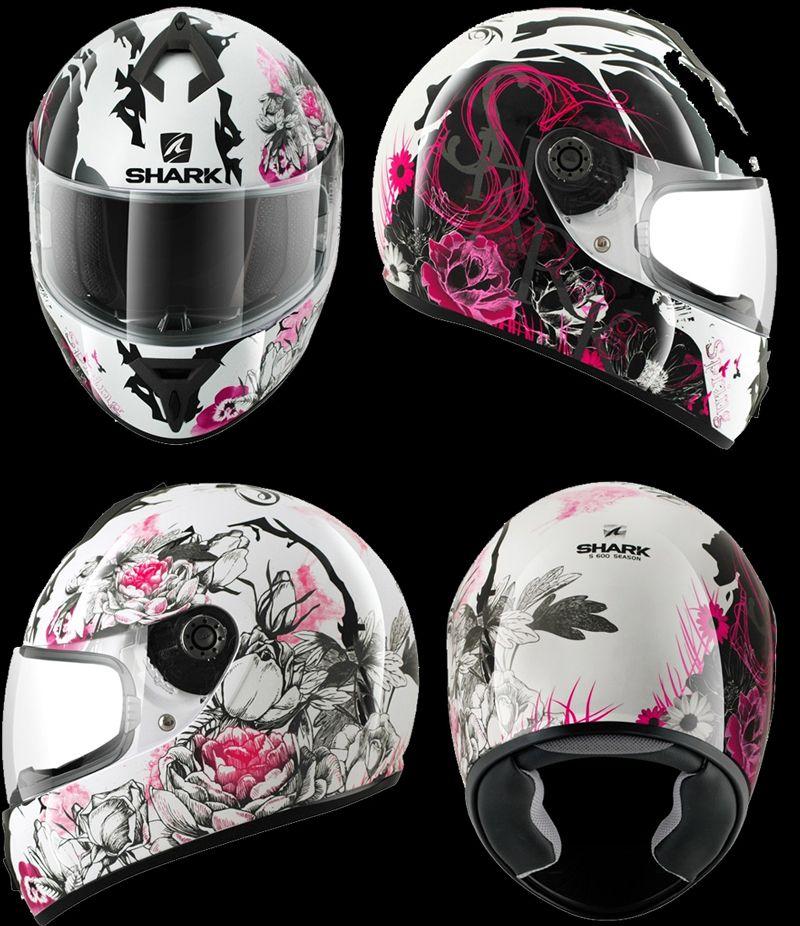 Shark S600 Season Lady Helmets Designed By Sdone Projet Et