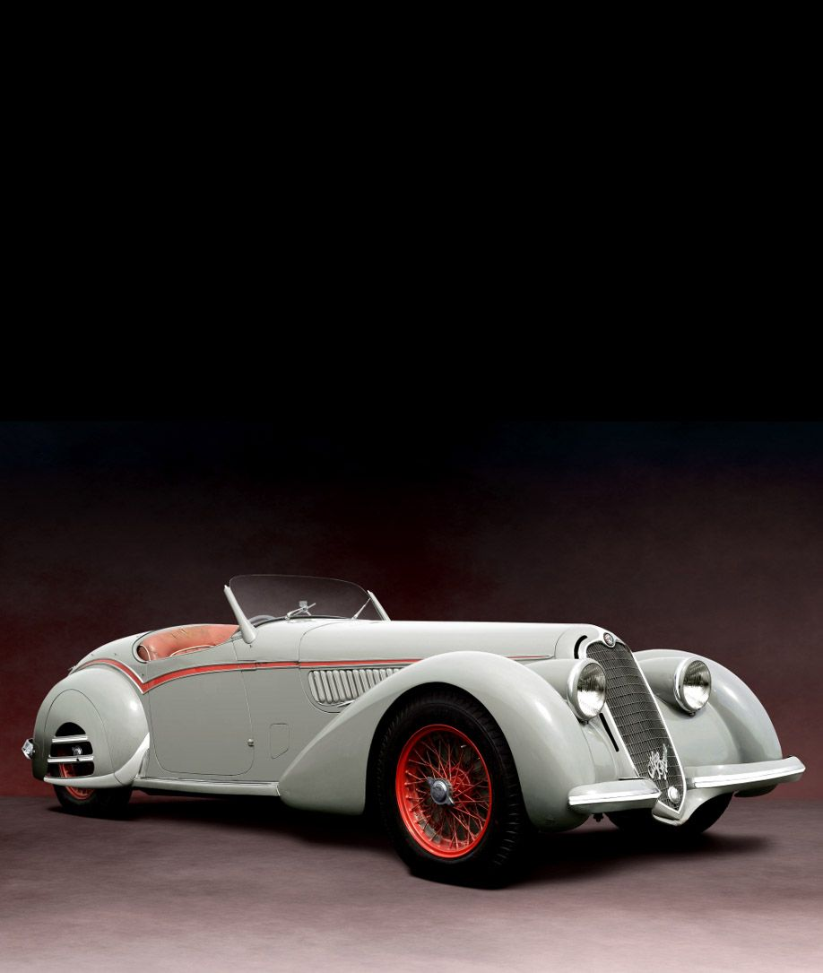 Alfa Romeo 8C 2900-B Corto Touring Spyder, Unrestored, 1938