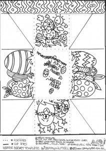 Free printable easter basket template easter egg basket template 212 free printable easter basket template easter egg basket template 212300 happy easter sunday maxwellsz
