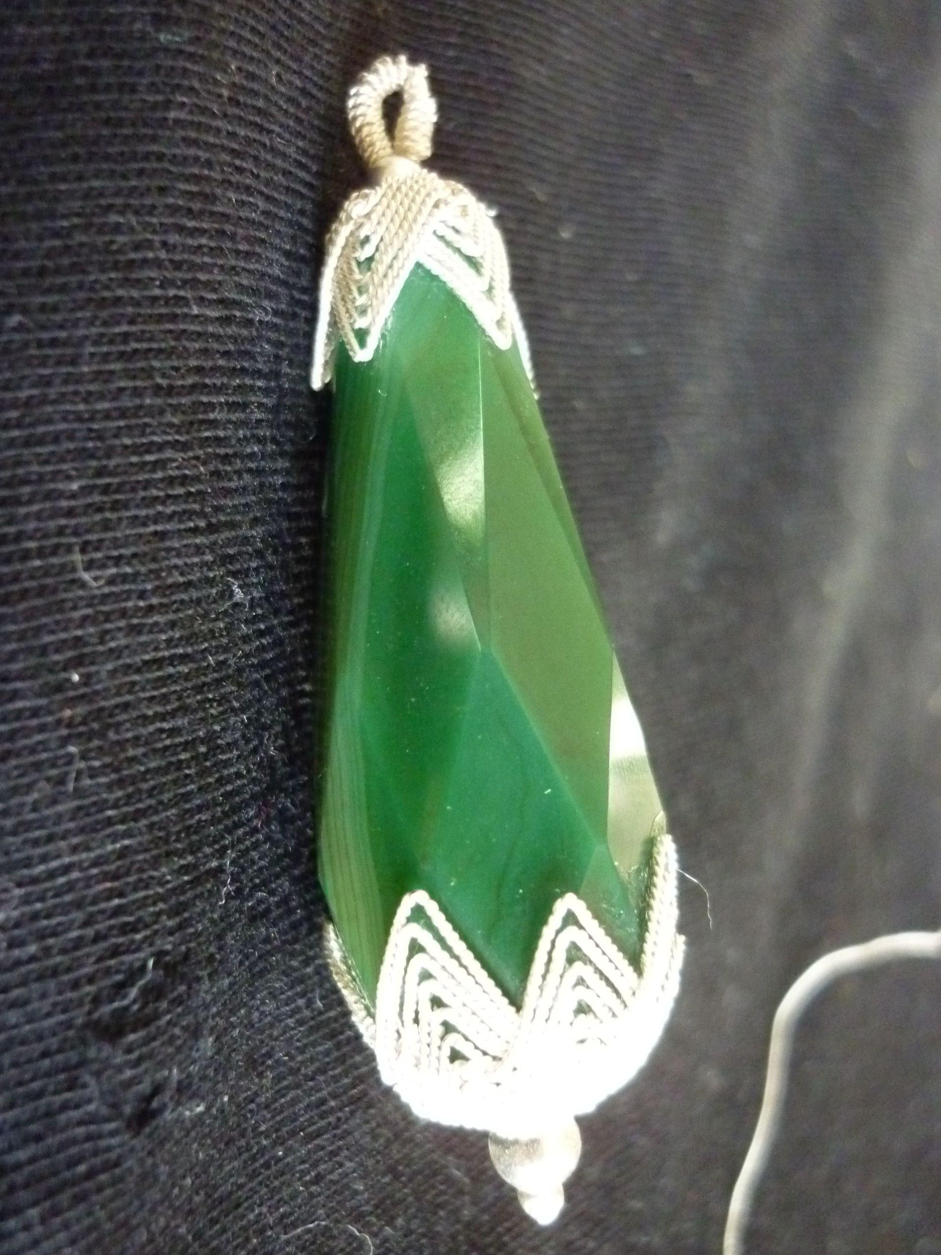 doğal taş kolye ucu | gümüş el işi takılar | Pinterest | Wire ...
