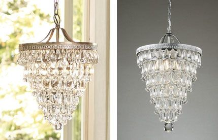Pottery Barn's Clarissa Chandelier is beautiful but expensive, as it costs  $399 plus $39.90 in - Shop Smarter Chandeliers, Pottery And Barn