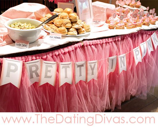 Baby Shower Decor Printables ~ Pretty in pink baby shower theme printables baby shower themes
