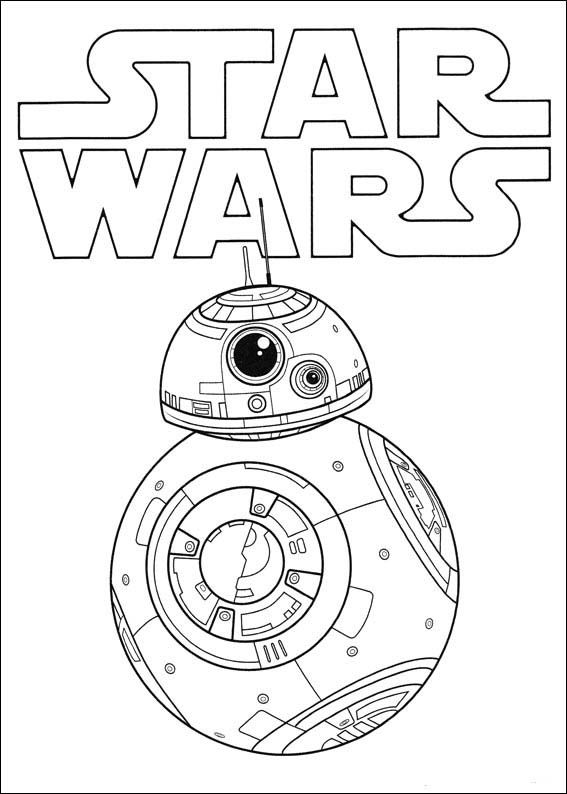 Star Wars The Force Awakens Coloring Pages 3 | Fiestas diversas ...