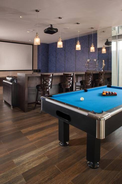 16 salas de juego y mini bares que querrás tener en tu