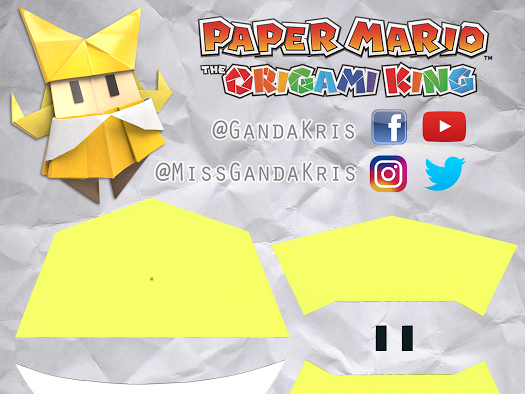 Paper Mario The Origami King Patterns Google Drive Paper Mario Mario Crafts Paper