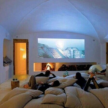 Now we're talking. Hardcore movie room!!
