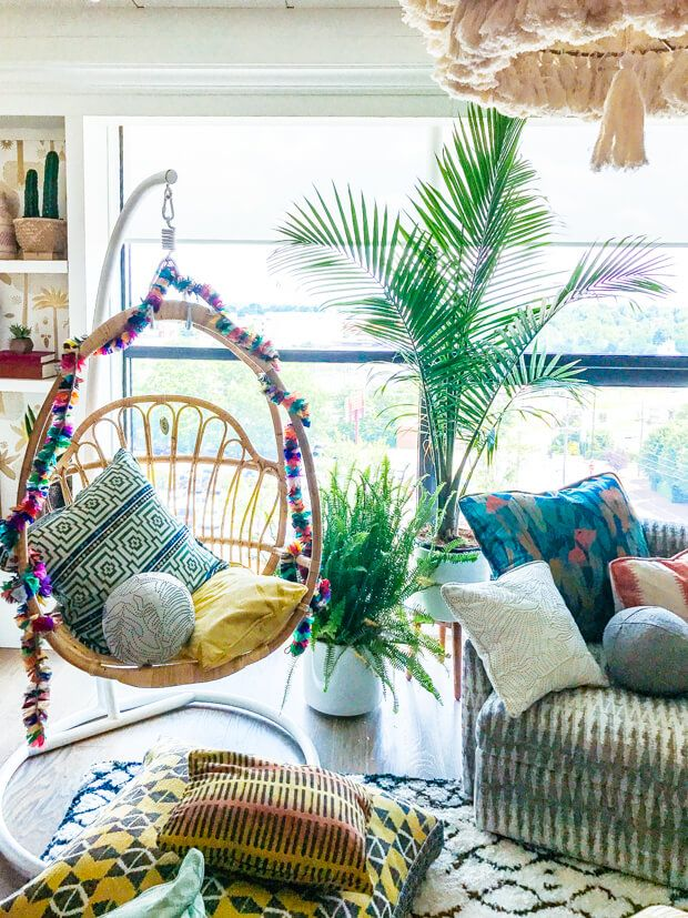 The Latest Collection Of The Jungalow Colorful Bohemian Fabrics Is Here Bohemian Dining Room Jungalow Decor Classic Home Decor