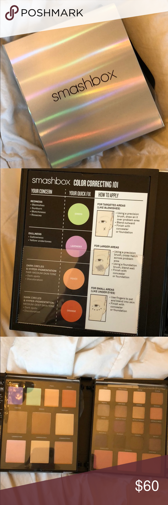Smashbox Brand New Lighting Theory Palette Color