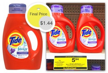 Tide Detergent And Stain Release Only 1 44 At Rite Aid With