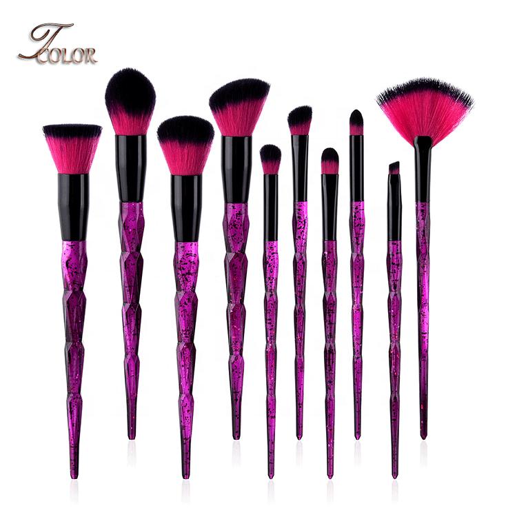 Hormonalacnetreatment In 2020 Purple Makeup Brush Set Unicorn Makeup Brushes Cosmetic Brush Set