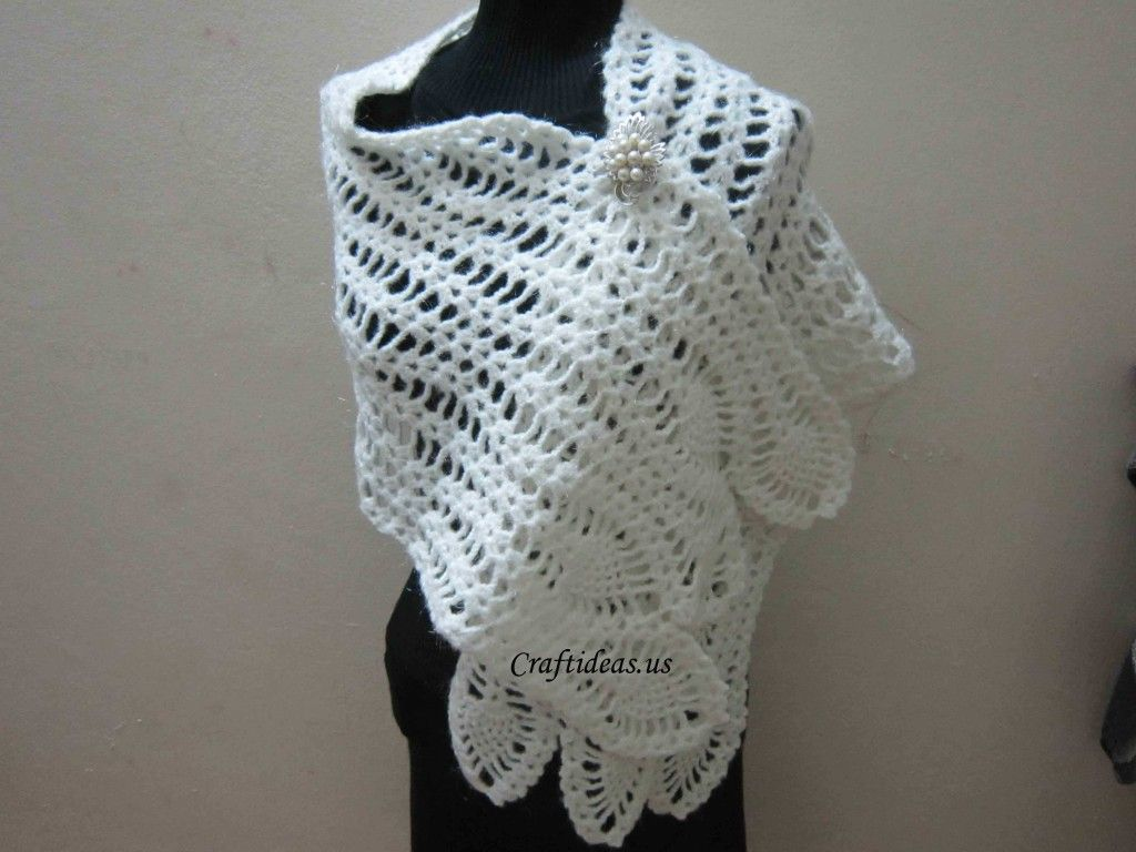 Crochet Cute Scarf For Ladies Free Pattern More Of A