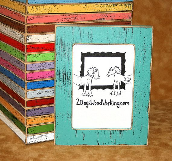 85x11 or 8x12 picture frame colored frame rustic frame document frames shabby chic frames67 colors