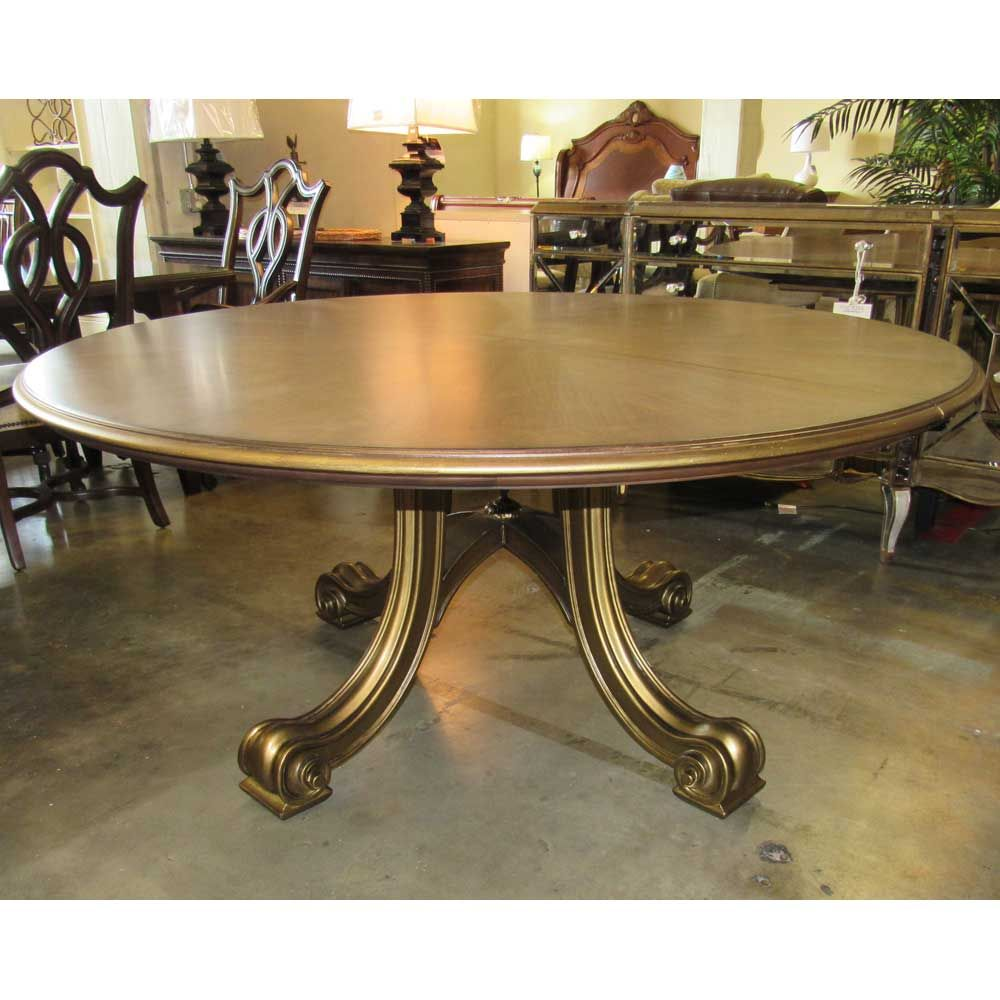 Century Consulate Hortense Round Dining Table  Floor Sample On Adorable Clearance Dining Room Sets Design Decoration