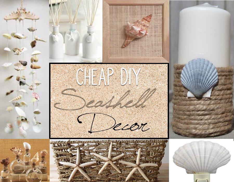Cheap Diy Seashell Decor Sea Shell Decor Seashell Bathroom Decor Seashell Wall Decor