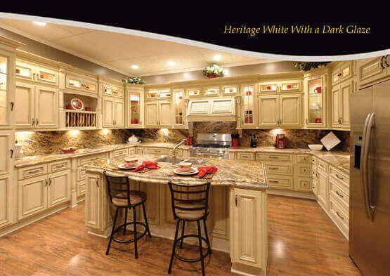 Best Heritage White Dark Glaze With Images Kitchen Remodel 400 x 300