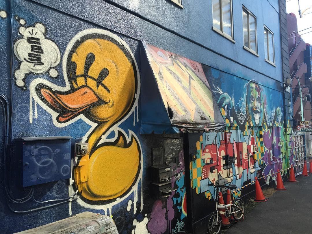 Graffiti wall tokyo - Manhattanrecord Graffiti Tokyo Japan Shibuya