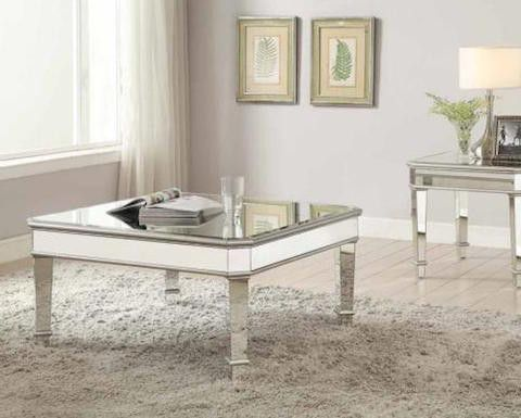 Coaster Contemporary Mirrored Coffee Table IKEA Pinterest