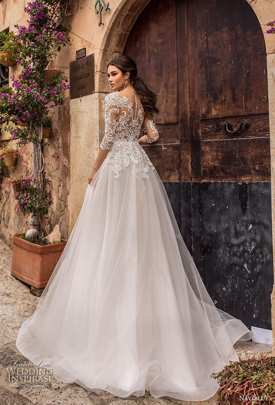 Naviblue wedding dresses u ucdollyud bridal collection wedding