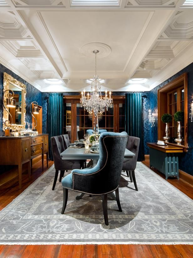 Candice olson apenas candice q divino pinterest for Traditional dining room wallpaper