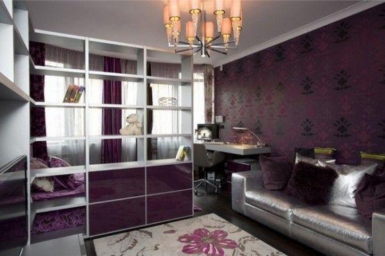 Moderne, Zeitgenössische Teen Schlafzimmer Design Ideen