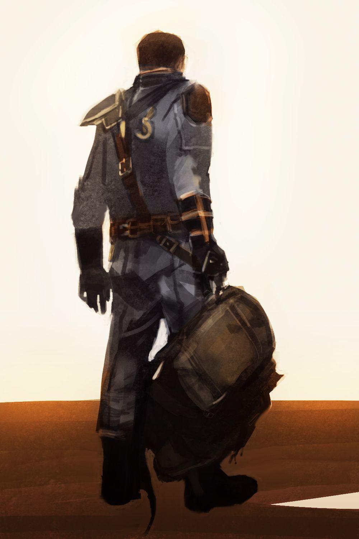 Littlezas Fallout Week 2015 Day 07 Wastelanders Backpack I