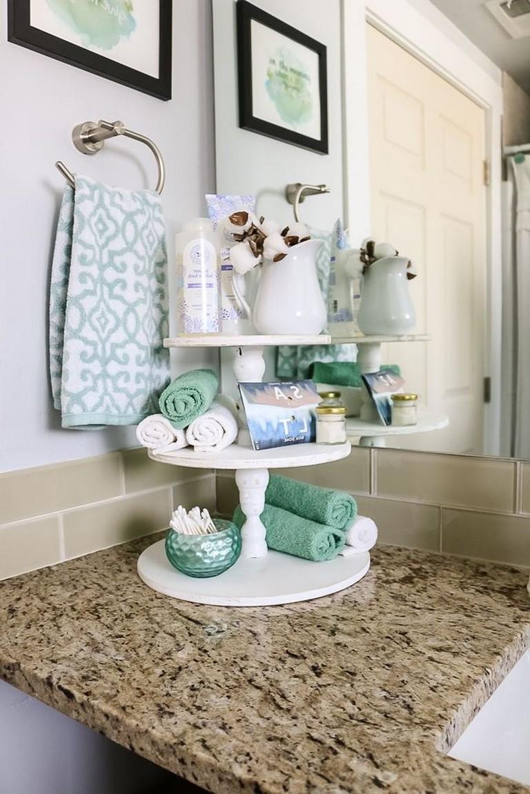 11 Vintage Garden Decor Creative Ideas Bathroom Vanity Tray Bathroom Countertop Storage Beautiful Bathroom Vanity