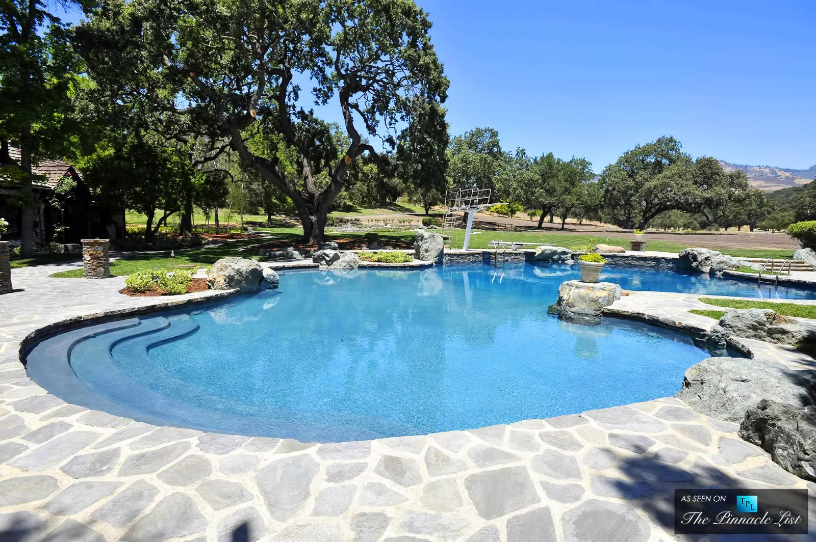 Swimming Pool - Michael Jacksons Neverland Valley Ranch - 5225 Figueroa Mountain Road, Los Olivos, CA