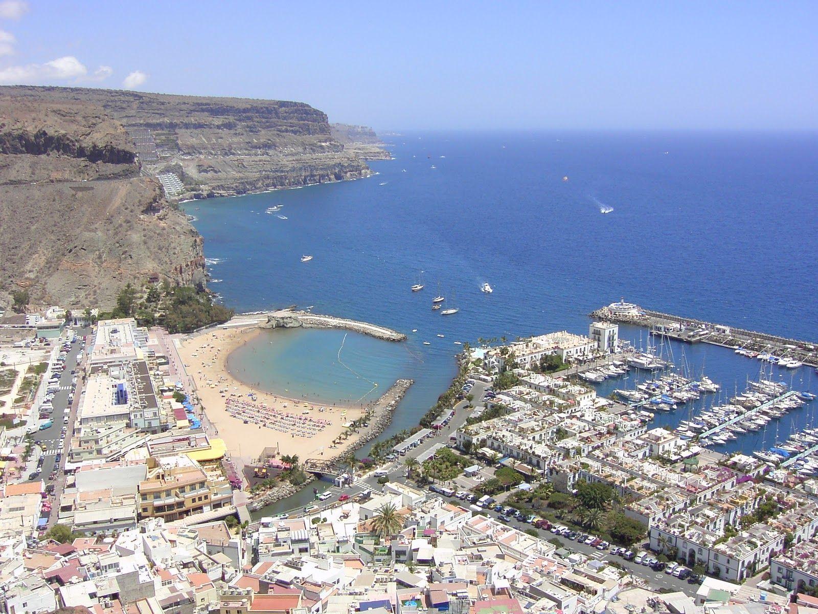 Puerto de Mogan, Gran Canaria Islas canarias, Lugares