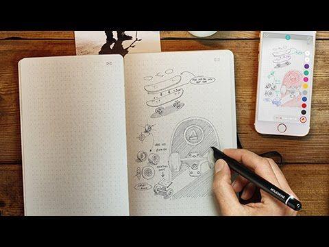Moleskine Smart Writing Set Digitalizes Your Notes Smart Pen Moleskine Innovative Gadget
