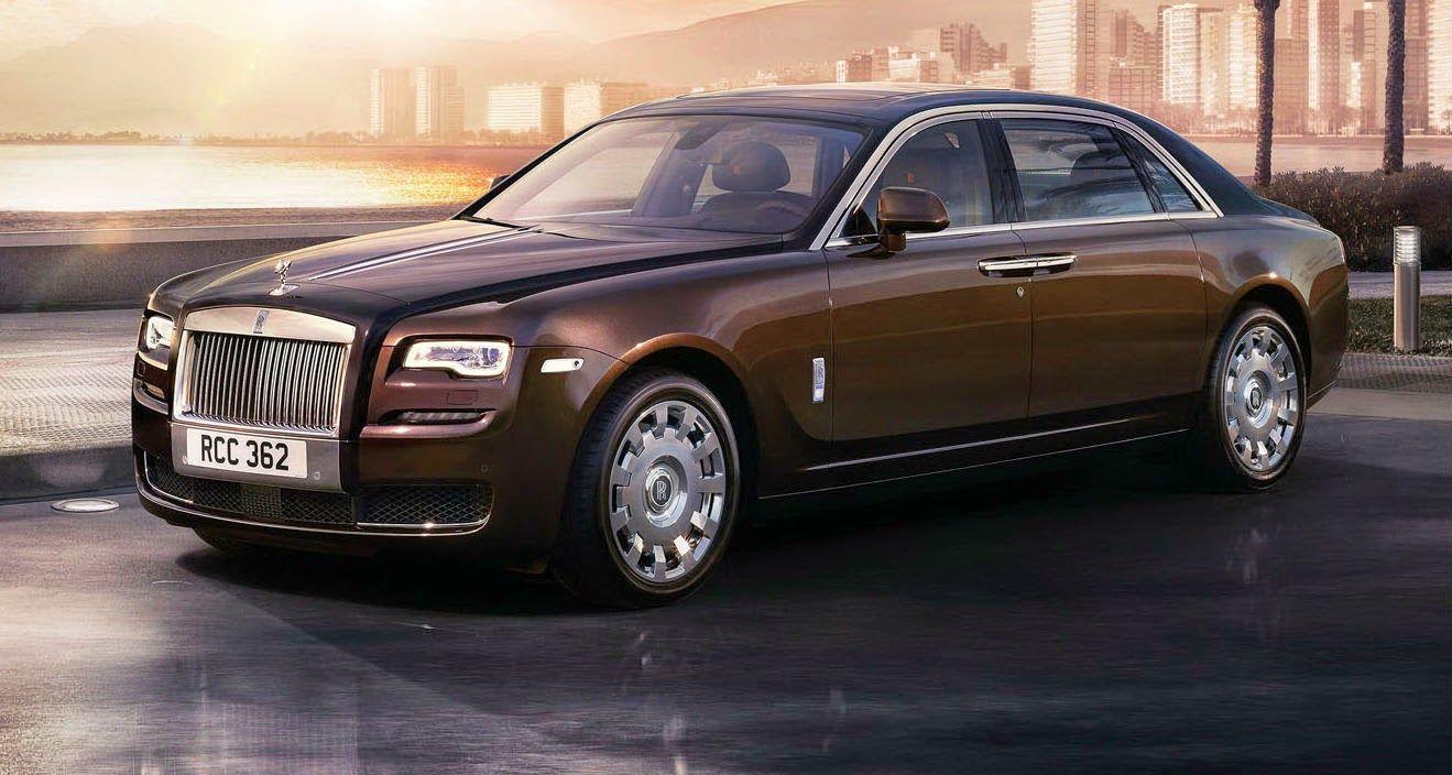Luxury Vehicle: Roll Royce Ghost Series II, Coches De Lujo