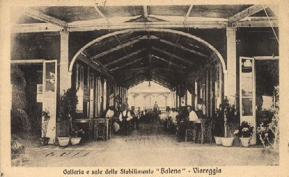 Viareggio galleria bagno balena viareggio lu viareggio liberty pinterest - Bagno roma viareggio ...
