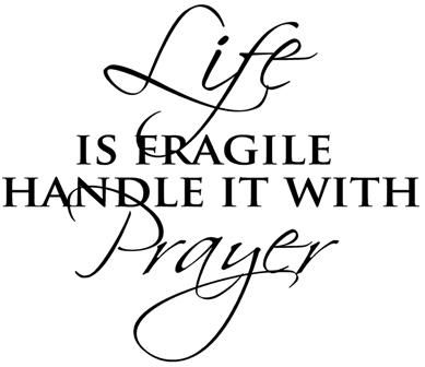 Handle it with...prayer