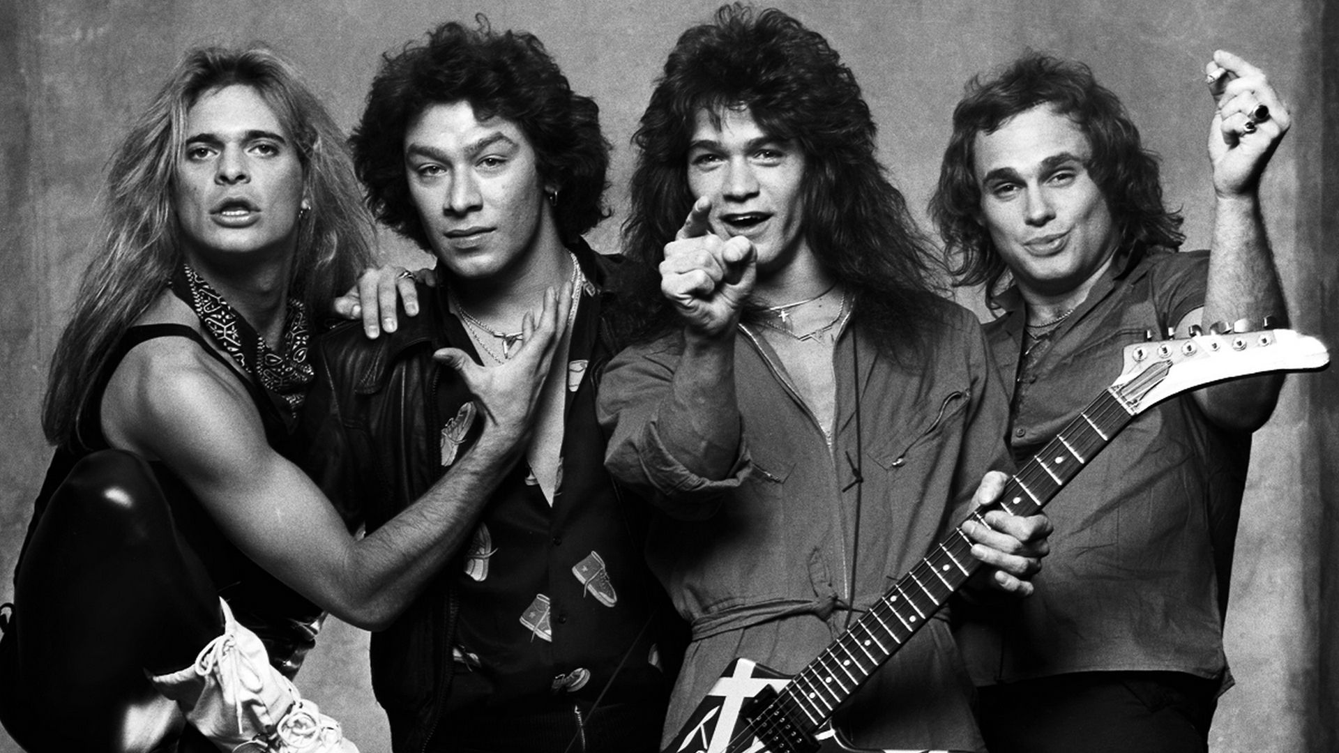Van Halen Originarios De Los Angeles California Desde El Ano 1972 Van Halen Le Daria Un Nuevo Significado Al Rock And Roll En Especial Van Halen Fundadores