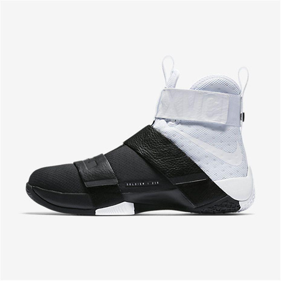 c634d1345f994 Nike Zoom LeBron Soldier 10 Pinnacle (White / Black / White) · Cheap Nike  Basketball ShoesSports ShoesNike MenAdidas ...