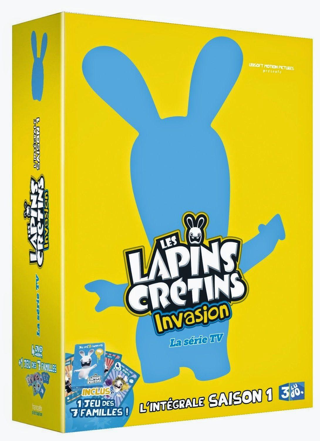 Goodies Les Lapins Crétins: DvD : Les Lapins Crétins Intégrale Saison 1