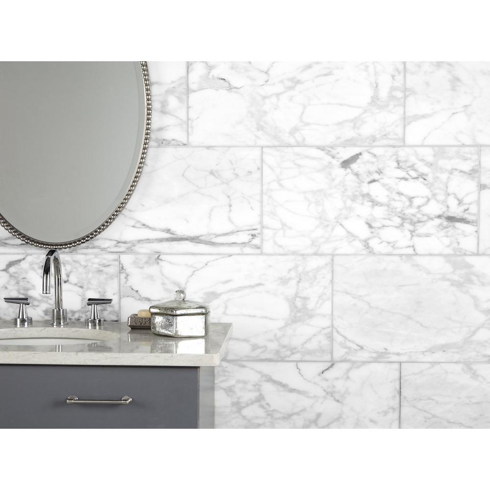 Statuario Honed Marble Tile In 2020 Honed Marble Tiles Honed Marble Marble Tile