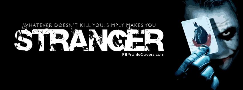 Stranger Facebook Cover Timeline