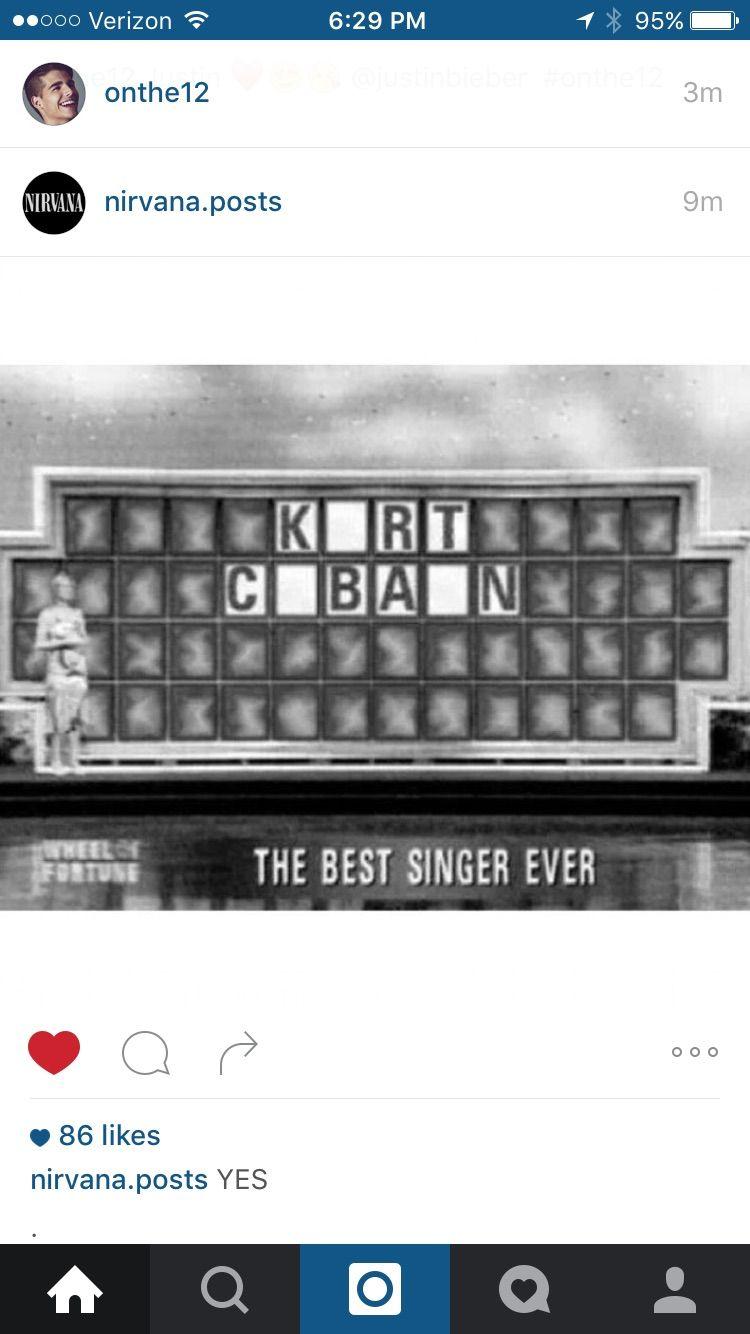 Pin By Melissa Kaizer De Souza On Kurt Cobain Nirvana Puzzle Solving Funny Memes Humor