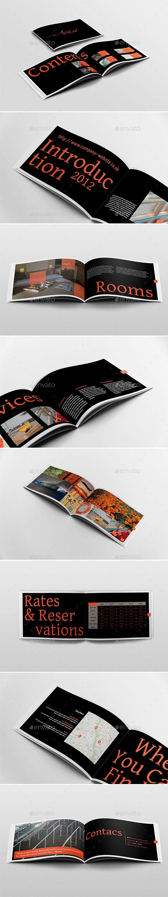 Horizontal Brochure Brochures Brochure Template And Template - Horizontal brochure template