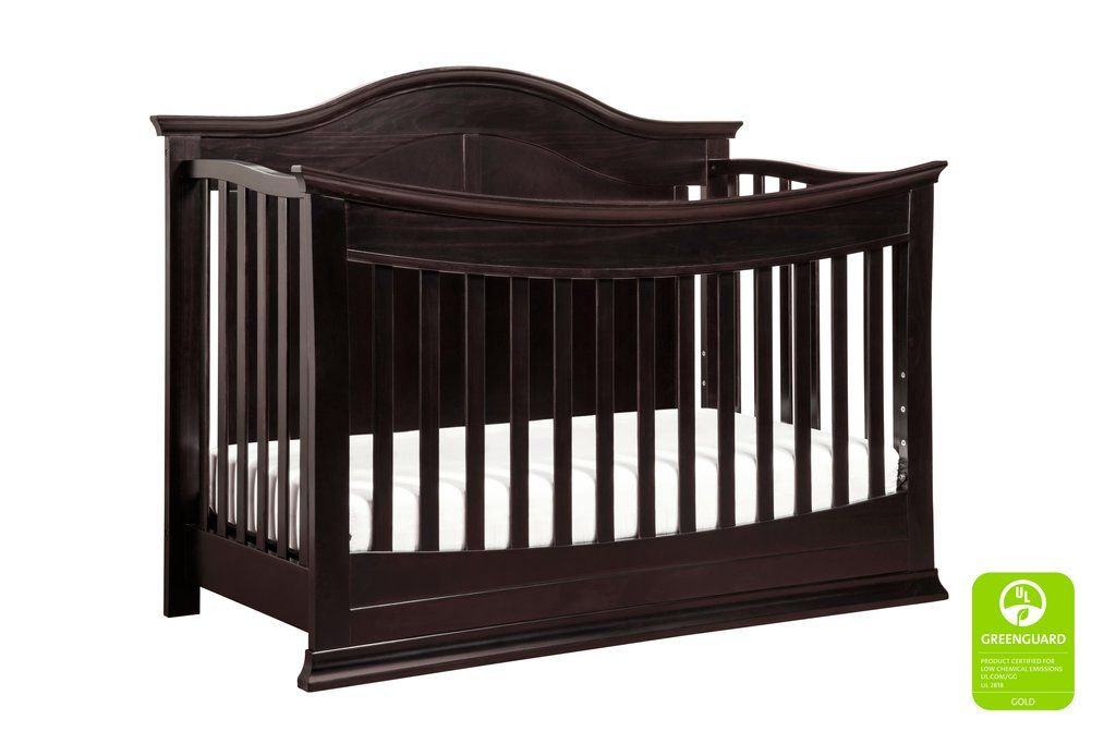 Meadow 4 In 1 Convertible Crib With Toddler Bed Conversion Kit Cribs Convertible Crib 4 In 1 Crib