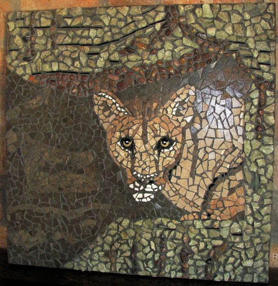 SOLD  Patient Predator  Mosaic by MosaicMishmash on Etsy, $875.00